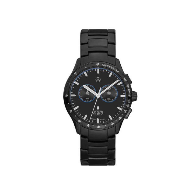 Montre-chrono homme, Black Edition